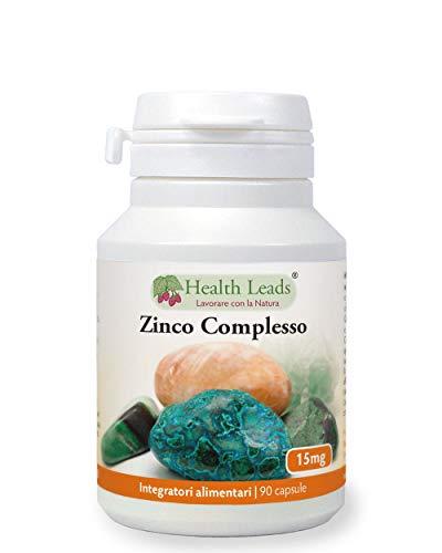 Complessi di zinco 15mg x 90, Senza stearato di magnesio, Lo zinco aiuta il normale funzionamento del sistema immunitario e contribuisce a mantenere pelle, capelli e unghie sani, Prodotto in Galles