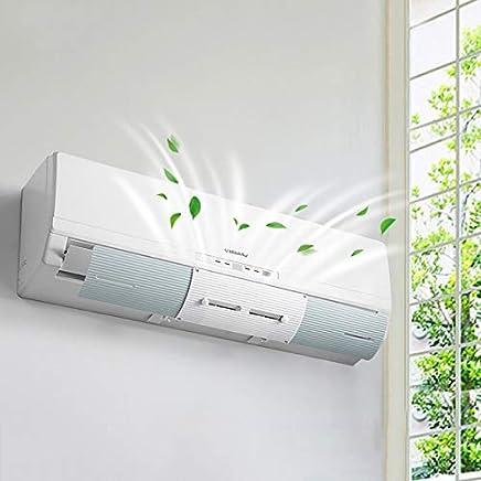 HOMESTAYDD エアコンアクセサリー、エアコンフロントガラス - 調節可能な赤ちゃんの妊娠中の女性エアディフレクタシュラウドベッドルーム壁掛けアンチストレートブロー (色 : 青)
