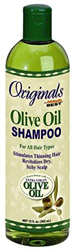 Africas Meilleur Shampooing ORG 340,2 gram d'huile d'olive (354ml)