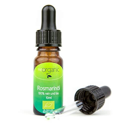 Bio-Rosmarinöl (Rosmarinus officinalis), 100% naturreines ätherisches BIO-Öl – 10ml