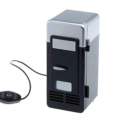 Outdoors Mini Fridge Portable Fridge/Mini Cooler for Food Beverages Skincare -Use at Home Office Dorm Car Boat Travel Camping Bedroom AC DC Plugs Included,[Energy Class A]
