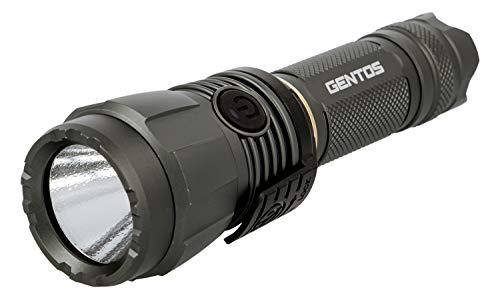 GENTOS(ジェントス) LED 懐中電灯 USB充電式 【明るさ1900ルーメン/実用点灯2時間/2m防水】 専用充電池使用 アルティレックス UT-1900R ANSI規格準拠