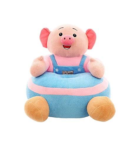 Niños de dibujos animados Sofá, heces precioso Piggy felpa de dibujos animados Sofá de peluche de juguete los niños juguetes de niños Sillón de niños plegable Sofá perezoso del asiento de la felpa de