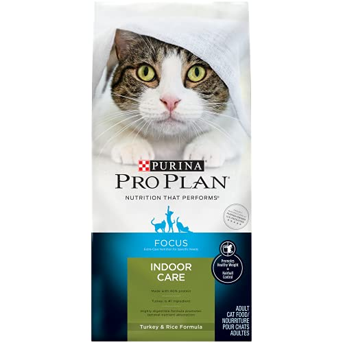 Purina Pro Plan Hairball, Healthy Weight, Indoor Dry Cat Food   Chewy