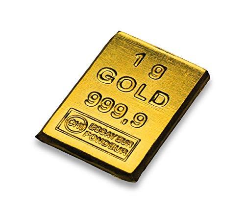 Goldbarren 1g Geschenk - Valcambi - 1 Gramm Gold