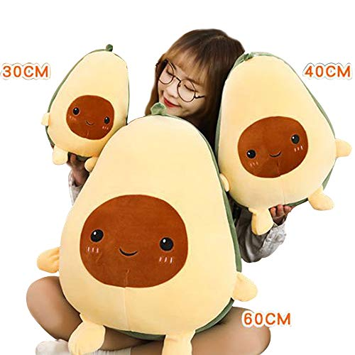 Comfort Food Peluches De Aguacate Cute Plush Toy Decoración Almohada Juguetes para Niños y Grils Regalos (30CM)