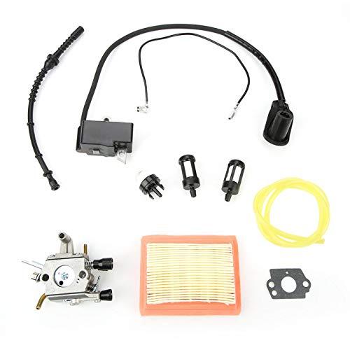 Vergaserfilter-Zündspule für STIHL FS120 120r FS200 FS250 FS300 FS350 Freischneider, Vergaser-Zündspule