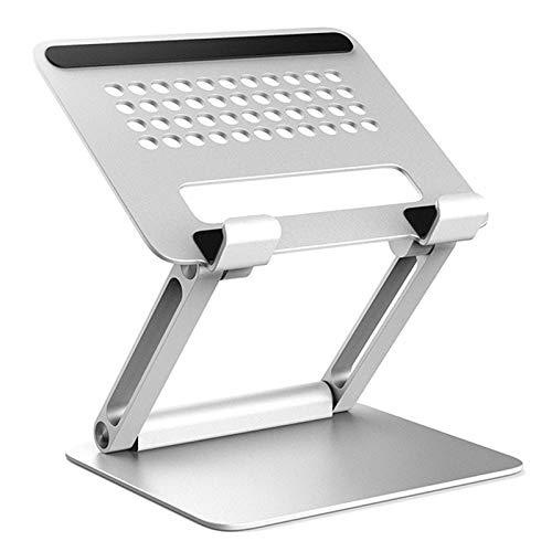 MAGFUN Soporte PortáTil TelescóPico de ElevacióN Plegable de Tableta de AleacióN de Aluminio, Conveniente para,