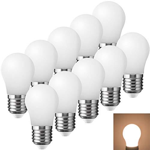 10er Pack K45 LED Lampen E27 1.5W Warmweiß 10W Glühbirne Entspricht Dekorative Leuchtmittel für Partybeleu chtung