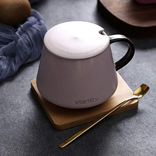 FHFF Kaffeetasse Nordic Mug Kaffeetasse Einfache Espressotassen Tee Frühstück Milch Tasse Keramik Wasser Caffe Startseite Trinkflasche Style6 220Ml