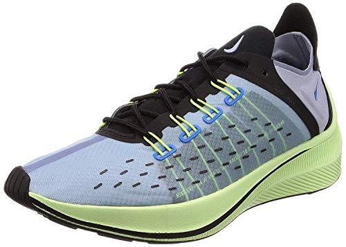 Nike Men's Gymnastics Shoes, Blue (Photo Blue/Glacier Grey/Black/Volt 400), Womens 8