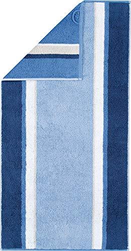 Cawö Home Handtücher Riva Streifen 965 blau - 11 Duschtuch 70x140 cm
