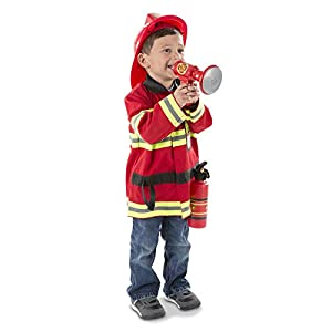 melissa & doug fire chief role play costume set - 41zCuUqXrDL - Melissa & Doug Fire Chief Role Play Costume Set