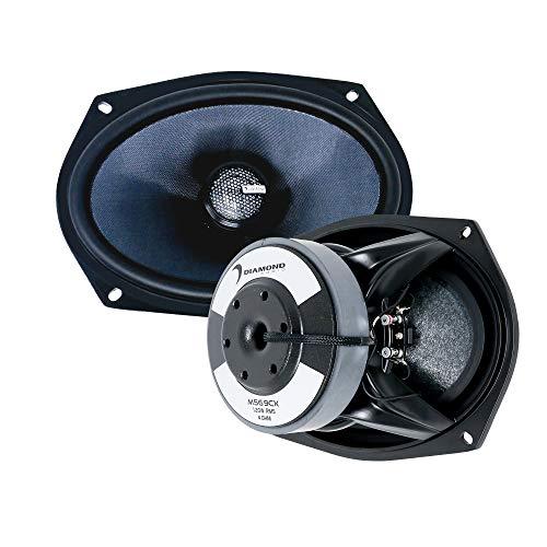 "Diamond Audio MS69CX – 6""X 9"" 2-Way High Output Coaxsub Speaker System, Pair"