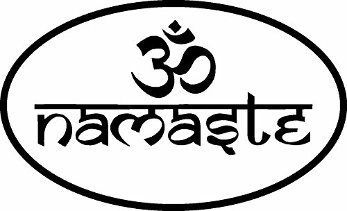ION Graphics Magnet Buddha Namaste Om Spiritual Hindu Decal Window Yin Yang Magnets Police Decal Car Fridge Metal Reuseable