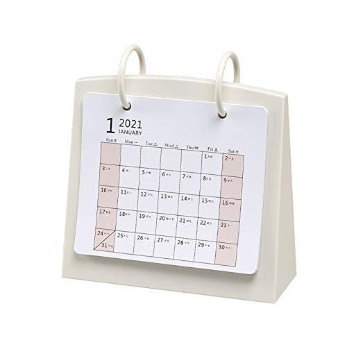 Planificador mensual Calendario 2021 de visita del calendario del calendario de escritorio Planificador Bloc de notas Tabla creativo Calendario de planificar y organizar for el hogar o la oficina Plan