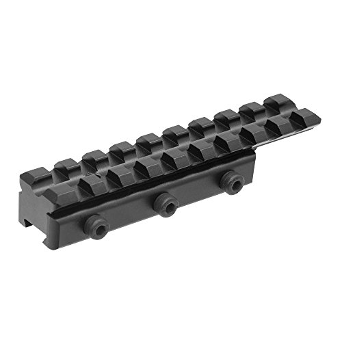 UTG Leapers MNT-PMTOWL-A Inc, Dovetail to Picatinn Adaptor Mount, Black
