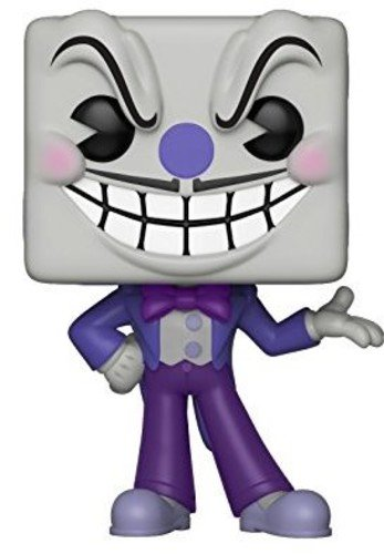 Funko- Figurines Pop Vinyle: Games: Cuphead: King Dice, 26968