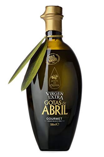 Gotas de Abril Aceite de Oliva Virgen Extra Gourmet 500 ml - Caja de 6 botellas