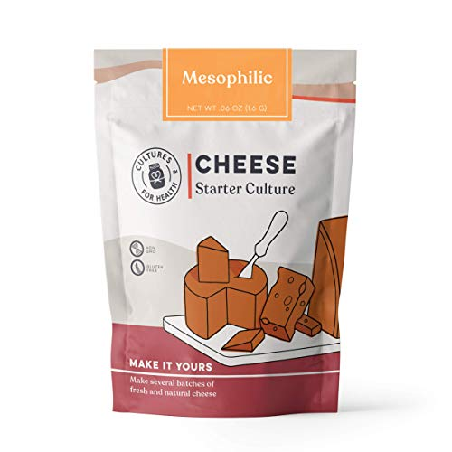 Mesophilic Cheese Starter Culture | Cultures for Health | Versatile,...