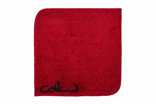 Grund COLANI Exklusiver Designer Badteppich 100% Polyacryl, ultra soft, rutschfest, ÖKO-TEX-zertifiziert, 5 Jahre Garantie, Colani 40, WC-Vorlage o.A. 60x60 cm, rot