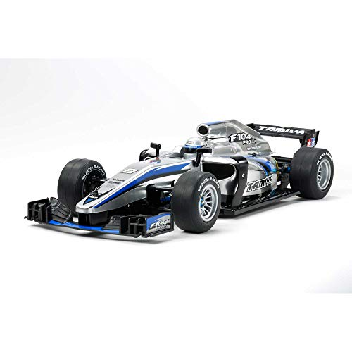 TAMIYA 58652 58652-1:10 RC F104 PRO II Kit, ferngesteuertes Auto/Fahrzeug, Modellbau, Bausatz, Hobby, Zusammenbauen, Chassis, unlackiert