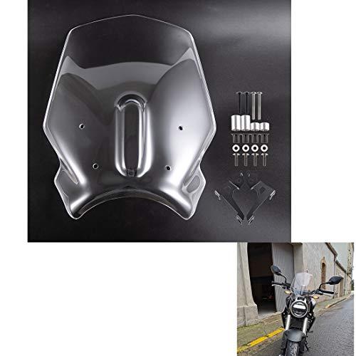 Deflectores de parabrisas de motocicleta Deflector de viento a prueba de viento para parabrisas de motocicleta para CB125R CB250R CB300R 2018 2019 2020