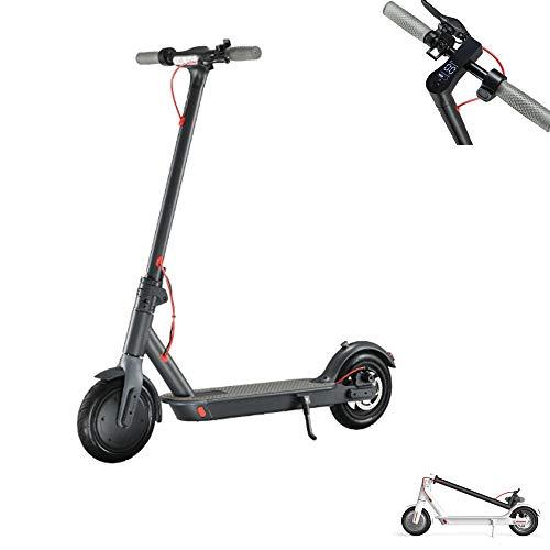 fang zhou Scooter eléctrico Plegable de 8.5 Pulgadas, Tablero de Instrumentos con Pantalla HD, Rango de manejo máximo de hasta 30 Millas, Muy Adecuado para Personas de Entre 16 y 50 años