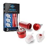 EarPeace Concert Ear Plugs - Reusable High Fidelity Earplugs - Hearing...