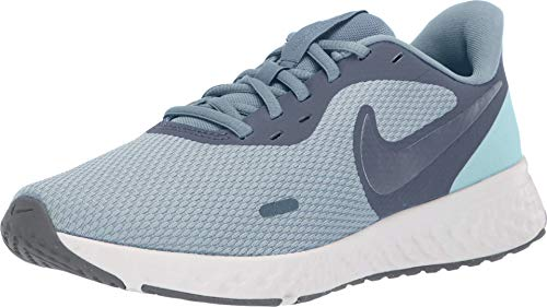 Nike Women's Revolution 5 Running Shoe, Wolf Grey/Metallic Cool Grey-Cool Grey, 9 Regular US