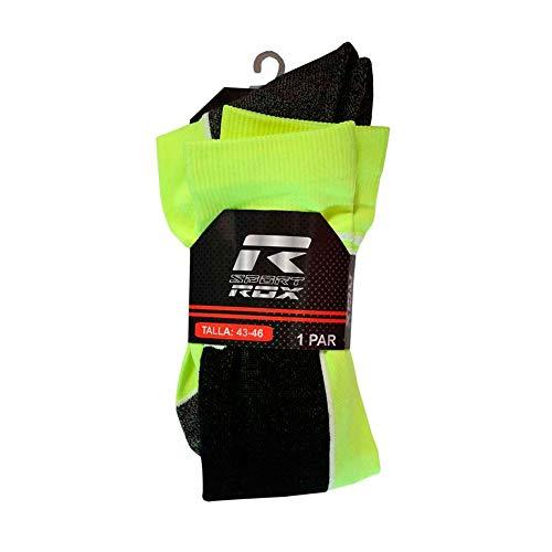 ROX Socks Chaussettes Homme, Jaune, 39-42
