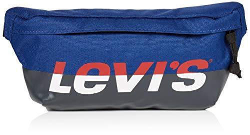 LEVIS FOOTWEAR AND ACCESSORIES Herren Banana Sling Business Tasche, Blau (Marine), 10x5,5x25,5 Centimeters