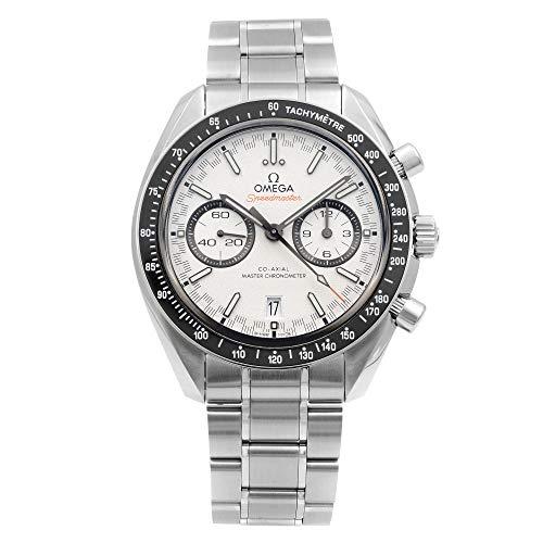 Omega Speedmaster Racing reloj automático para hombre con esfera blanca 329.30.44.51.04.001