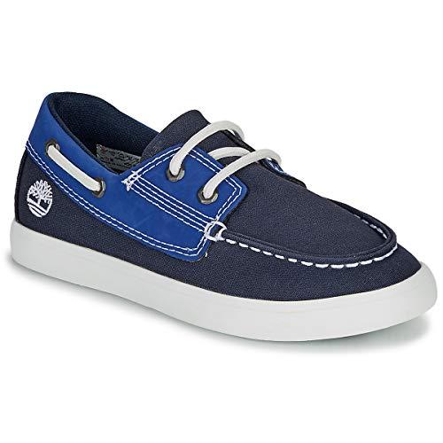 TIMBERLAND Newport Bay Boat Shoe TD Mocassins & Bootschoenen enfant Blauw - 32 - Bootschoenen