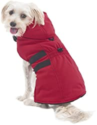 image of a fashionable parka for small pets