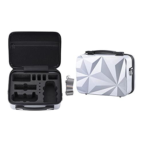 MYBOON Storage Box Custodia da Viaggio Custodia Rigida Impermeabile con Tracolla Regolabile Compatibile con Mavic Mini SE/Mini Storage Pouch Argento