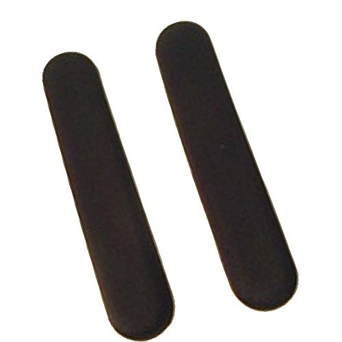 Preisvergleich Produktbild 12 x 2 (Pair) Soft Stick on Gel Pad for Cars,  Trucks,  Wheelchair Arm Pads,  Office Chair Armrest,  Computer Keyboard Wrist Rest by Big Josh's Gel
