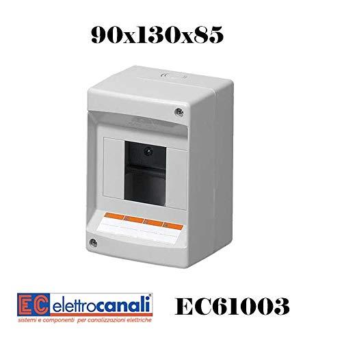 CENTRALINO DA PARETE IP40 SENZA PORT.3/4 MODULI EC61003