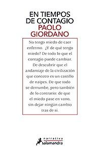 En tiempos de contagio par Paolo Giordano