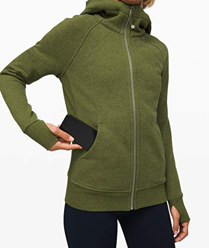 Lululemon Scuba Hoodie (Heathered Everglades, 4)
