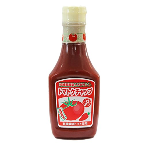 島とうがらし入り トマトケチャップ 300g×10本 琉球フロント 沖縄 土産 島唐辛子入りのピり辛調味料!