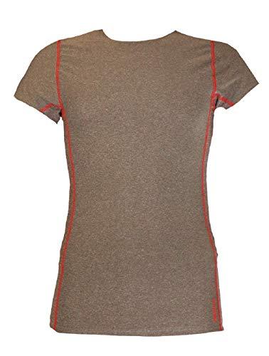 Reebok Men's Workout T Shirt - Short Sleeve Mesh Gym & Training Activewear Top