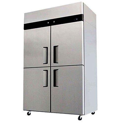 4 Door Refrigerator Freezer Combo Commercial Stainless Steel YBL9342