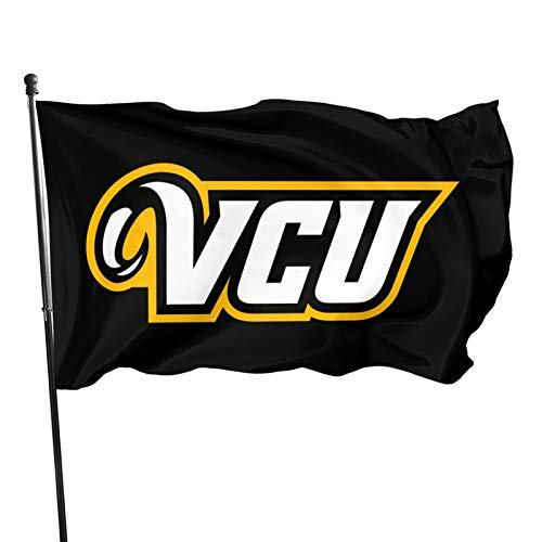Ali Yee VCU Ra-Ms 3x5 Feet Flag Outdoor Decorations Garden Farmhouse Yard Sign Banner,Vivid Color and Uv Fade Resistant with Grommets