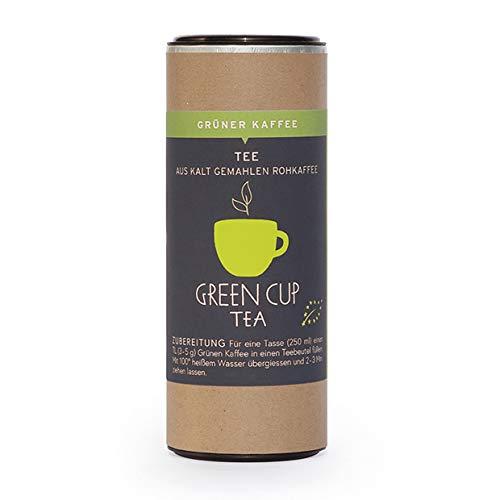 Green Cup Coffee - Grüner Kaffee aus 100 Prozent Bio Arabica Kaffeebohnen - Pacha Mama aus Peru - grasig-grüne Aromen - hochwertiger Rohkaffee Pack in Spitzenqualität - 100g gemahlen