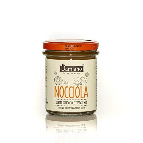 Crema Spalmabile di Nocciole, 100% Biologiche - Senza Glutine e Vegan Friendly - Vasetto da 180g