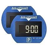 [page_title]-2x Park Lite elektronische Parkscheibe digitale Parkuhr blau mit offizieller Zulassung - 2 Stück Set