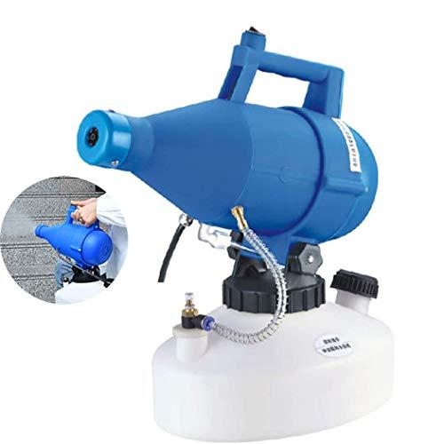 YBG Pulvérisateur Électrostatique, Portable Pulvérisateur Ulv Électrique Fogging Machine Ultra Capacité 4.5L Atomiseur Brumisation pour Office Hôpitaux Home Farm, 1400W