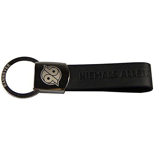Hannover 96 Schlüsselanhänger, Anhänger, Keychains Lederoptik H96 - Plus Lesezeichen I Love Hannover