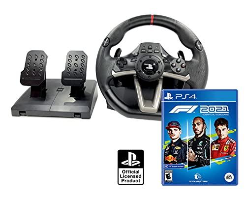 Volante PS4 PS5 Licencia Original Playstation 4 RWA Apex + Formula 1 2021 / F1 2021 PS4/PS5